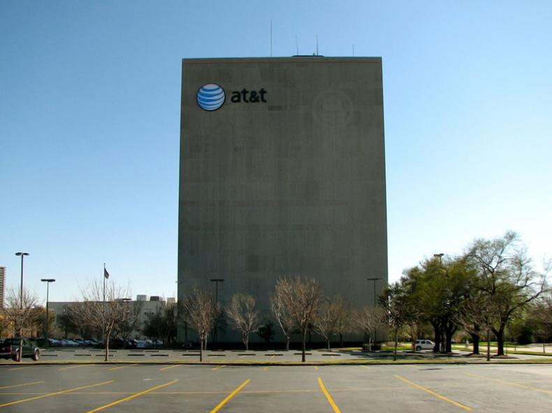 ATT Central Office by Bill Bradford