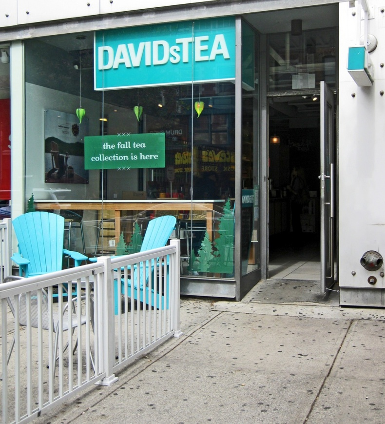 Davids Tea Queen St