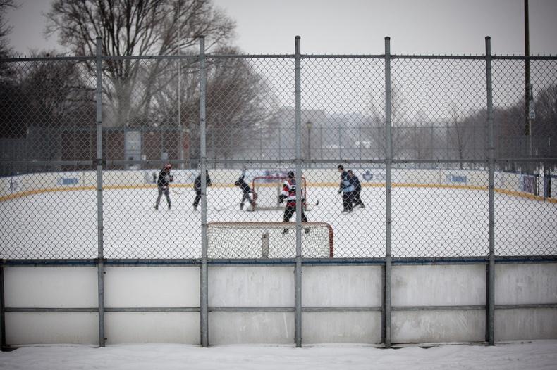 Trinity Bellwoods Ice Hockey Rink