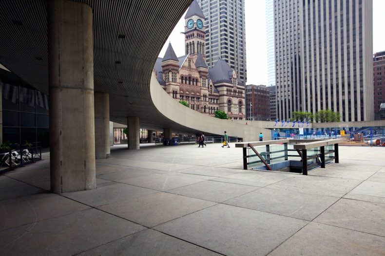 Arches of Toronto City Hall