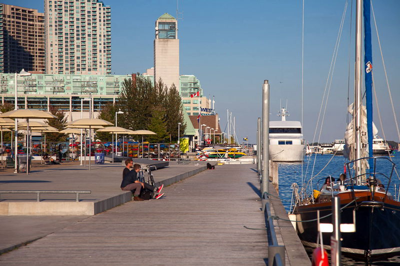 Toronto Harbour by Julian Mendl