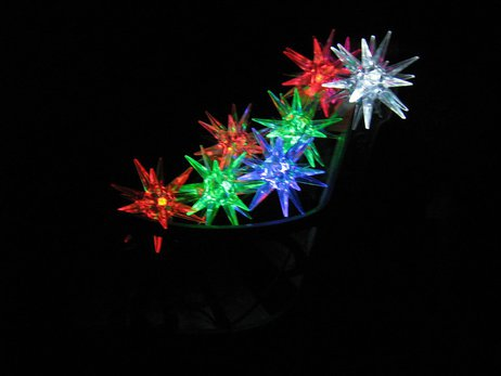 solar lights by Melissa Gutierez