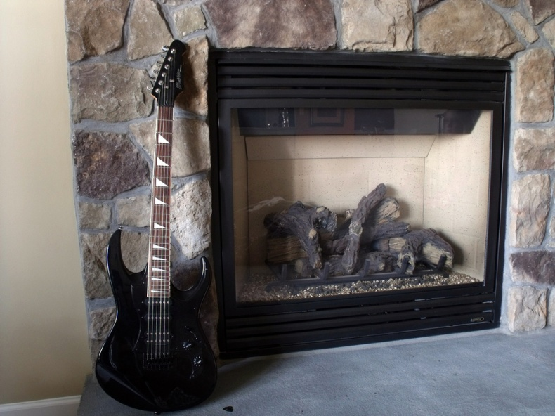 Fireplace by Taylor Burnes