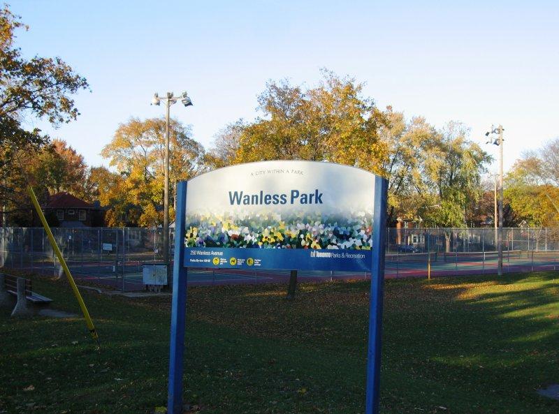 Wanless Park - The Park