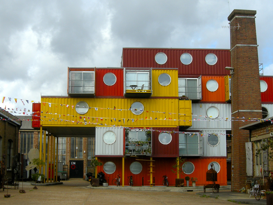 Container city by Martin Deutch