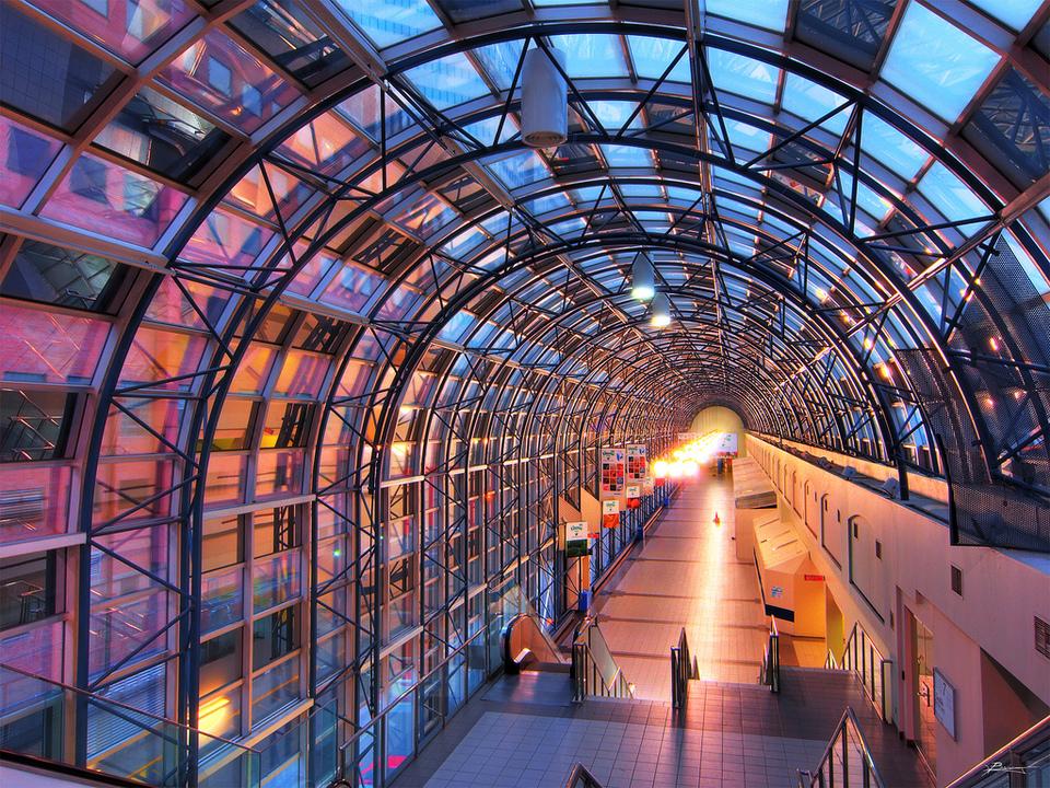 Interior Of Union Station In Toronto