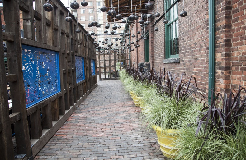 distillery district outside