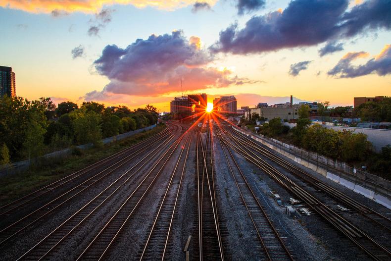 Toronto dusk by Jude Freeman