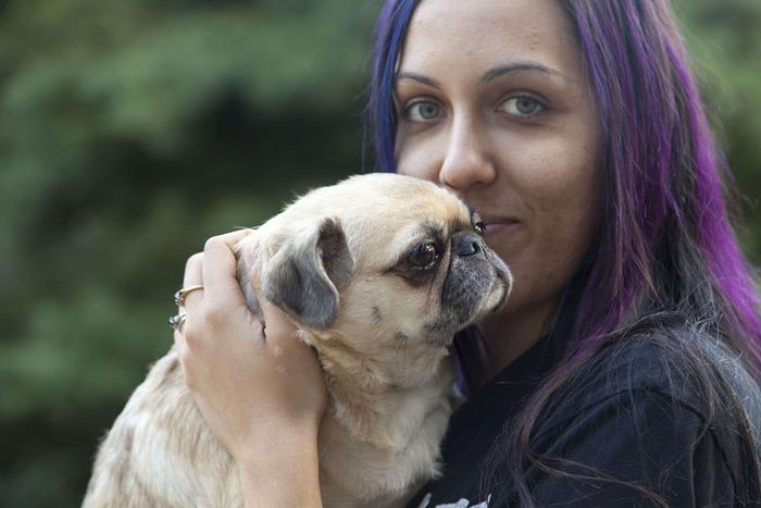 Pug owner