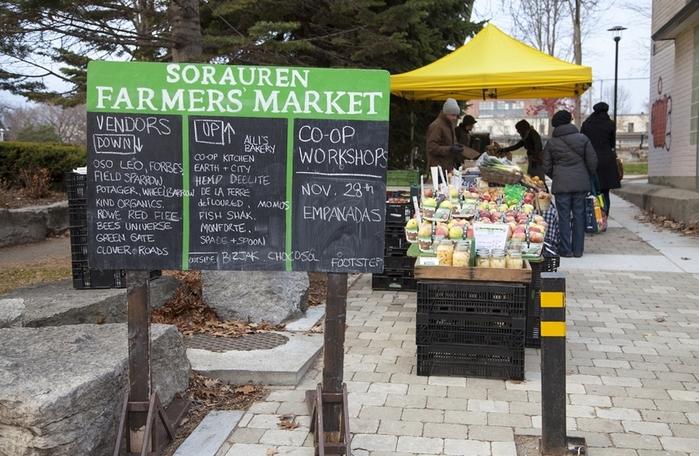 Sorauren Farmers Market