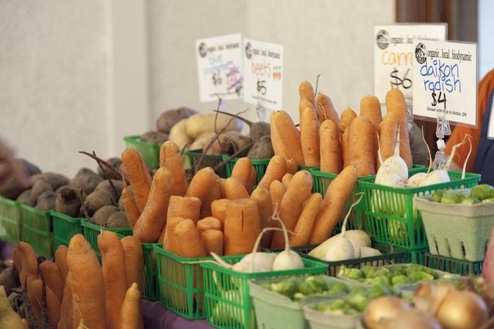 Veggies for sale