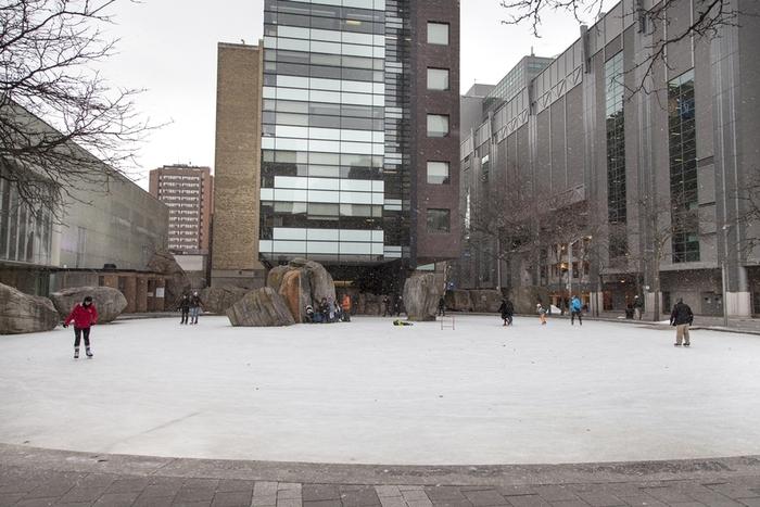 Ryerson University Ice Skating 6