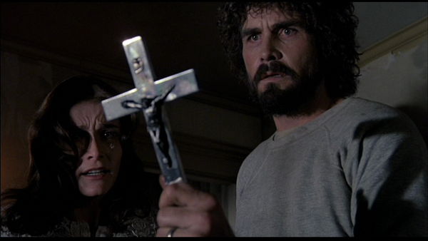 The Amityville Horror 1979 Margot Kidder James Brolin cross