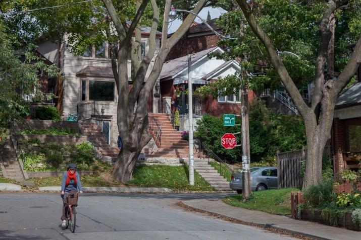 Biking in High Park
