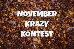 NOVEMBER-KRAZY-KONTEST