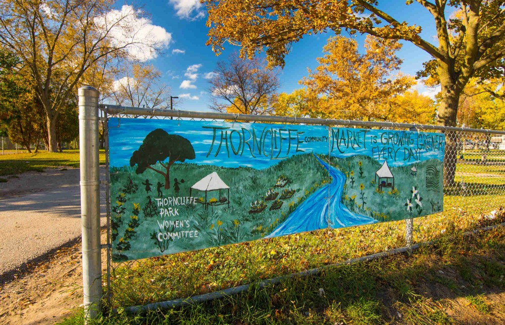 Thorncliffe Park Mural