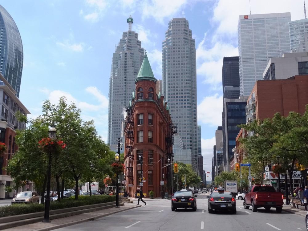 Toronto Flatiron by Friscocali