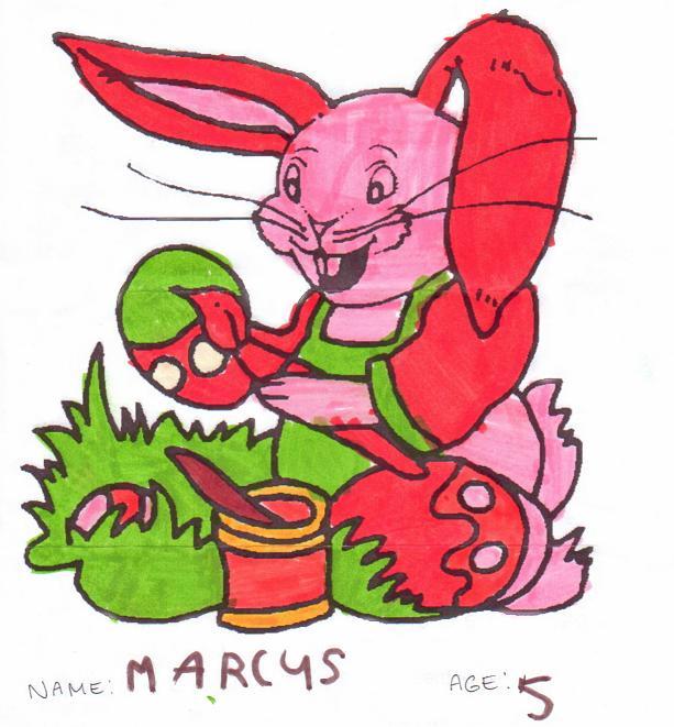 Easter Rabbit by Marcus Leszek