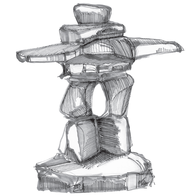About Inukshuk Philosophy The Julie Kinnear Team Of Toronto Real Estate Agents
