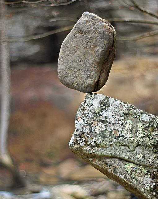 Rock balance by James Jordan