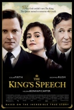 the kings speech poster