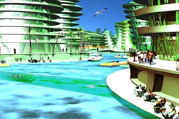 Recycled Island Urban Habitat
