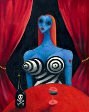 Tim Burtons Art Exhibition