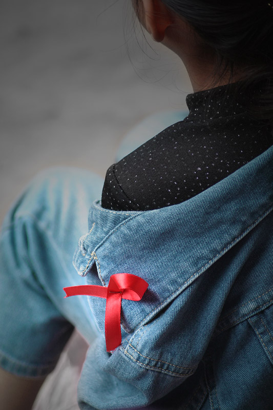 To the Red Ribbon Day by Seema K K