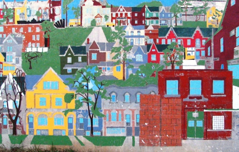 Mural in Sonyas Park by bookchen