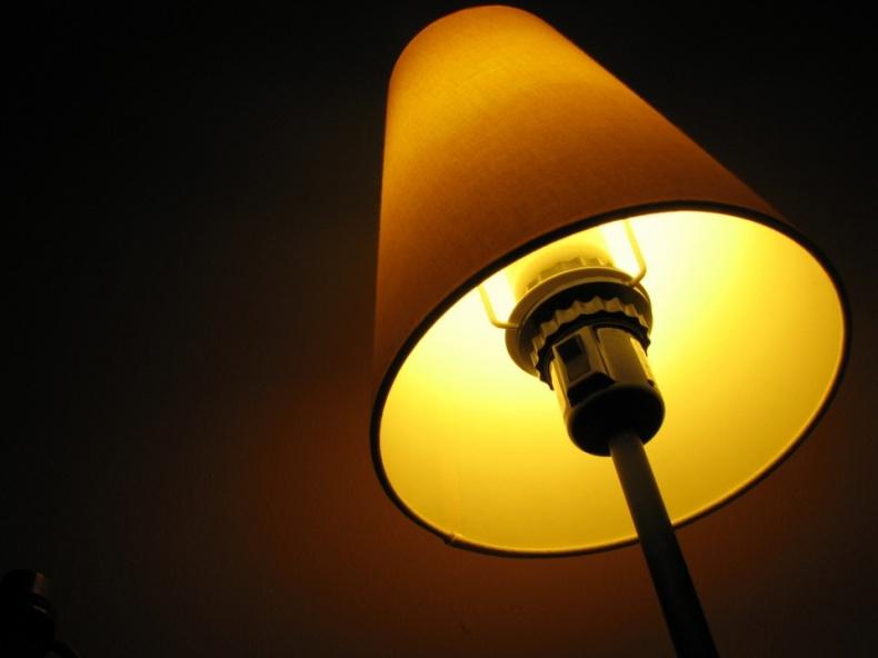Yellow Lamp by Matt MacGillivray