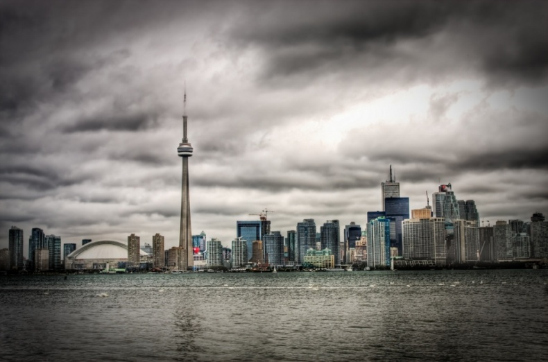 A Glorious Summer Day in Toronto by Benson Kua