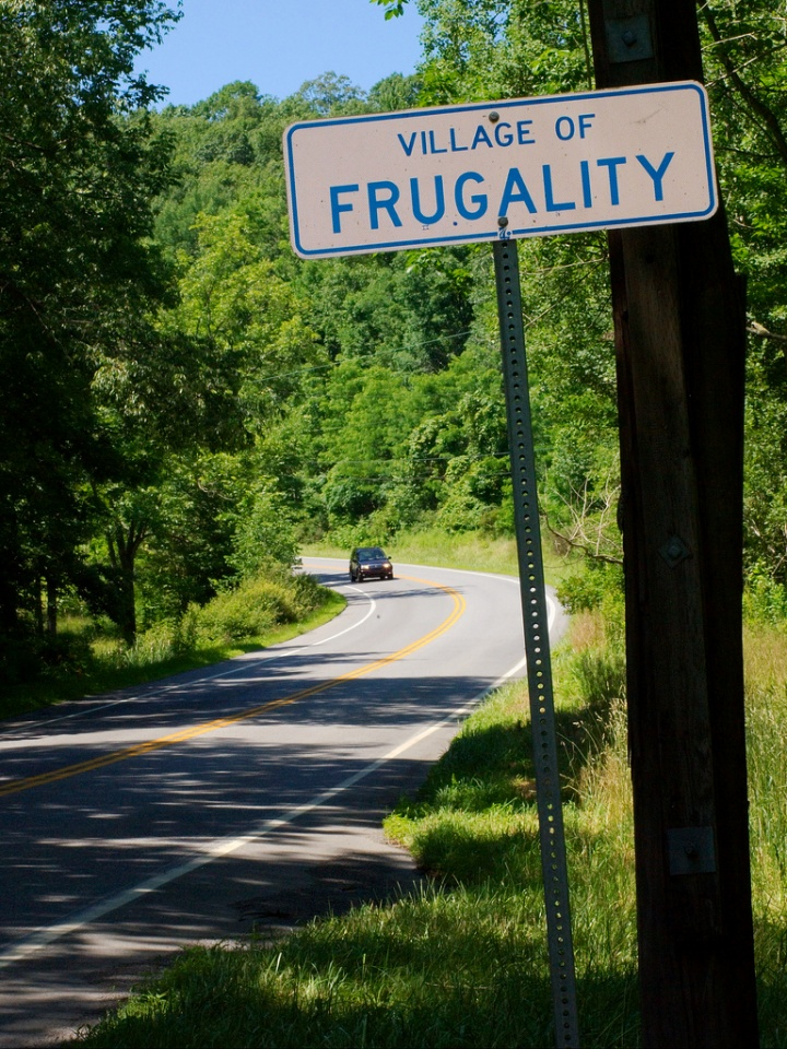 Frugality by Matthew Hunt