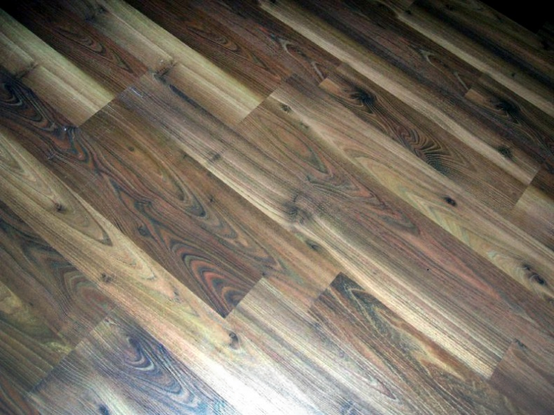 Wood Floor by Daniel R  Blume