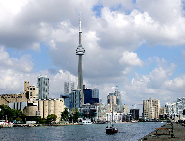Toronto Skyline by George Socka