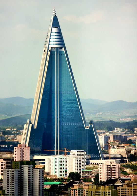 Ryugyong Hotel by Joseph Ferris III