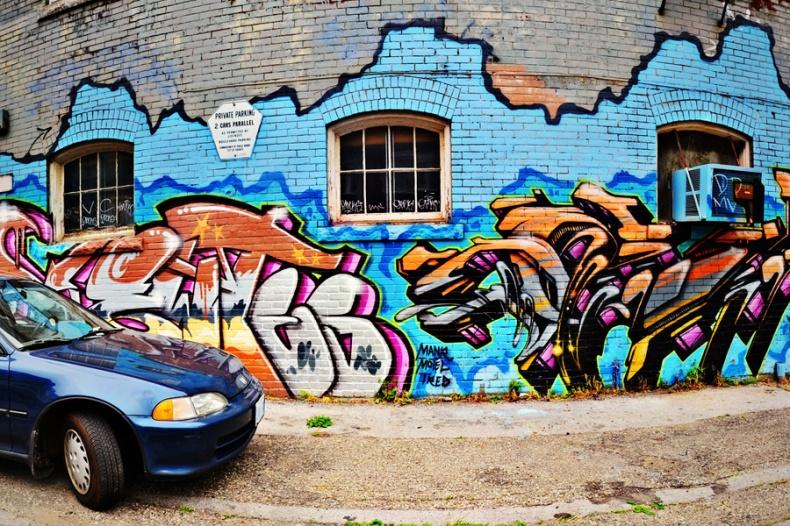 Graffiti Mural Toronto