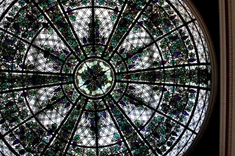 Casa Loma glass vitrage