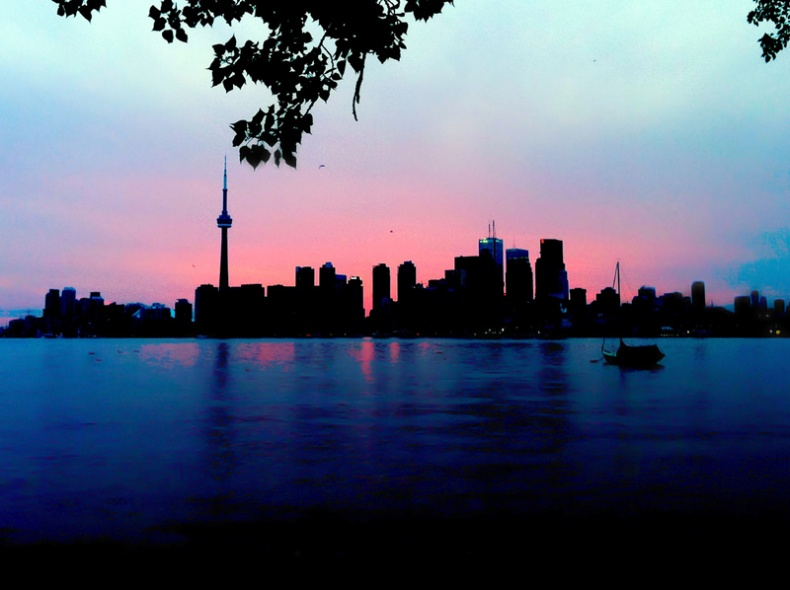 Toronto Skyline by Michael Tutton