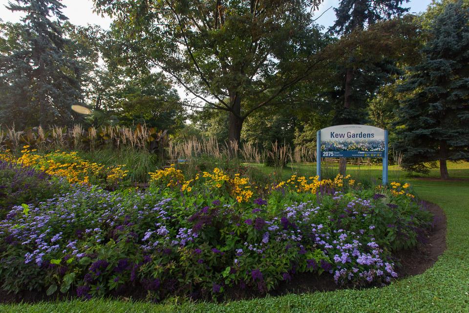 Toronto Beaches Kew Gardens Park