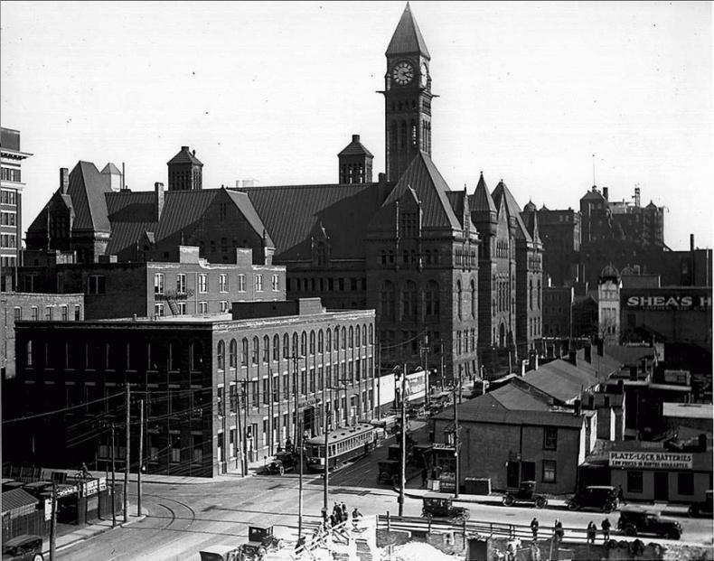 Bay street 1918 Toronto archives