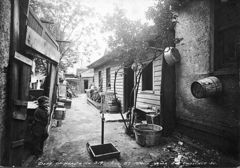 Chestnut street 1914 Toronto archives