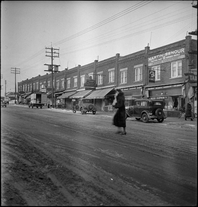 Eglinton Avenue West Toronto archives