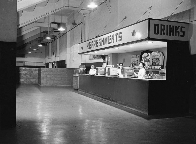 Maple Leaf gardens refreshment stand Toronto archives
