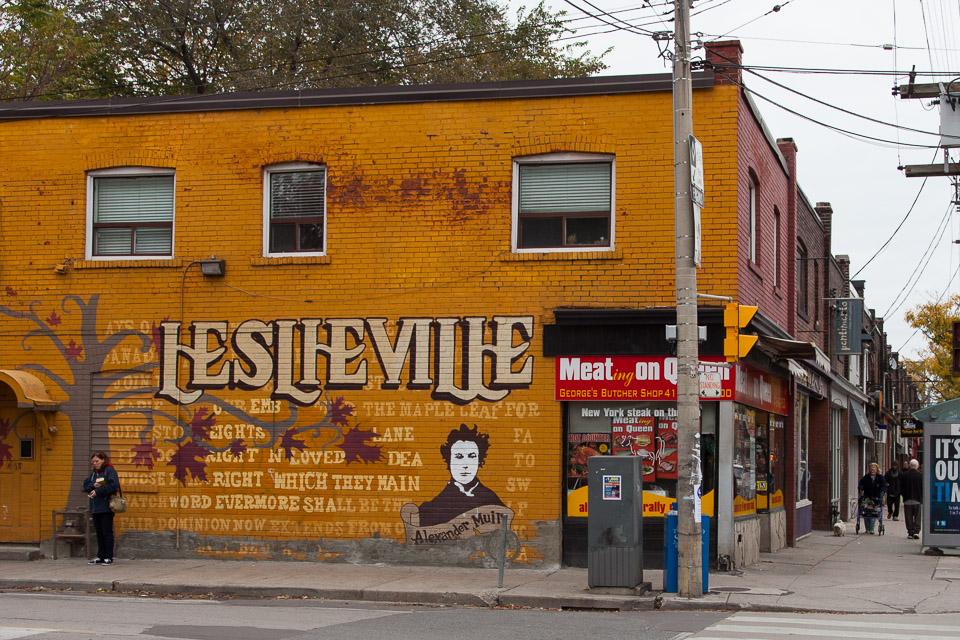 Leslieville Street