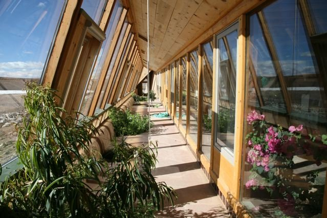 Corner Cottage Earthship