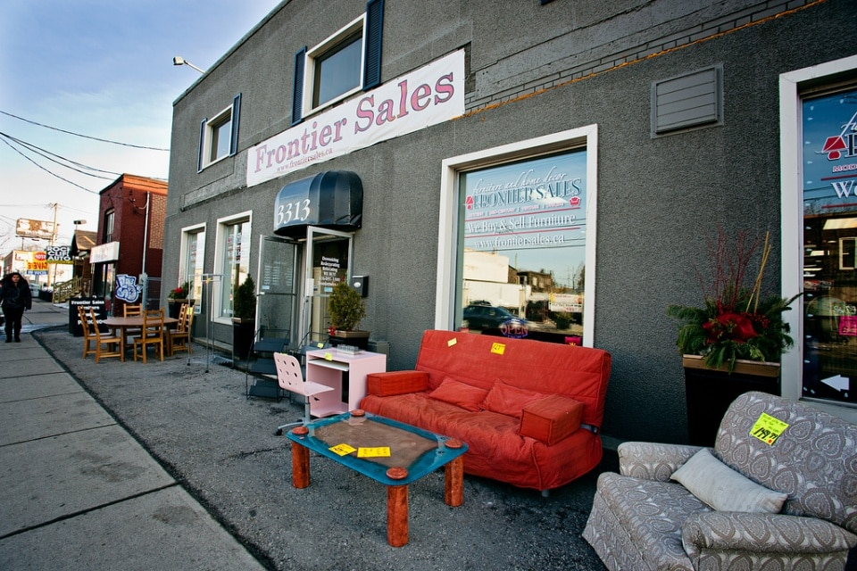 Second Hand Furniture Stores In Toronto Frontier Sales