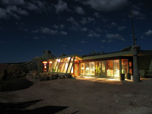Hybrid Earthship House