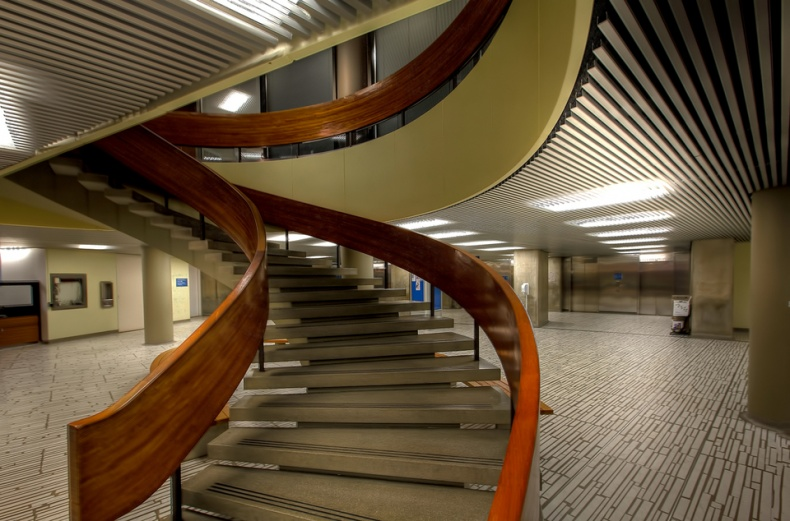 Toronto City Hall stairs