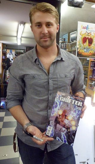 American Comic Book Writer Nathan Edmondson Visiting The Silver Snail