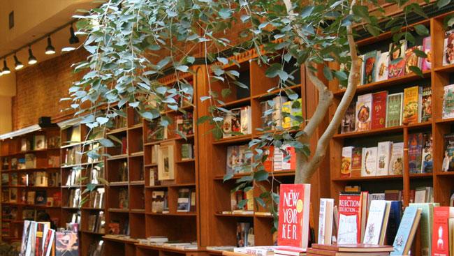 Nicholas Hoare Bookstore Interior